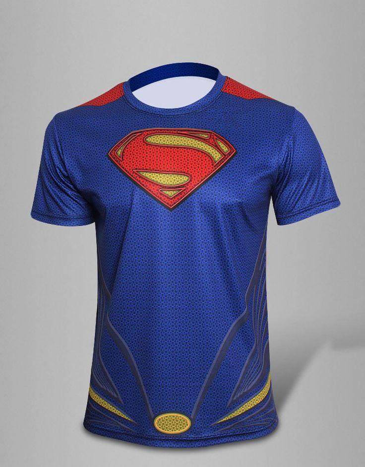 High quality new 2017 Men superhero Batman Jersey shirt quick dry fitness compression drying T shirt bike jerseys men/girl #Affiliate
