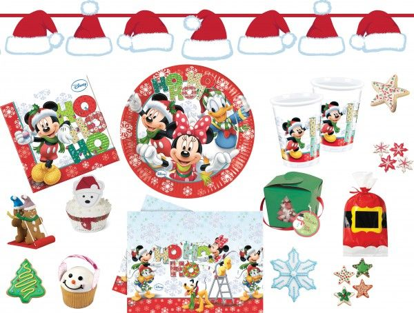 Disneys Micky und Minnie feiern Weihnachten - diese schöne Weihnachts Deko für Kinder gibt es jetzt zu kaufen bei: https://www.kids-party-world.de/weihnachten/micky-und-minnie-maus-weihnachts-deko/   #disney #mickey #minnie #weihnachten #weihnachtsdeko #kids-party-world