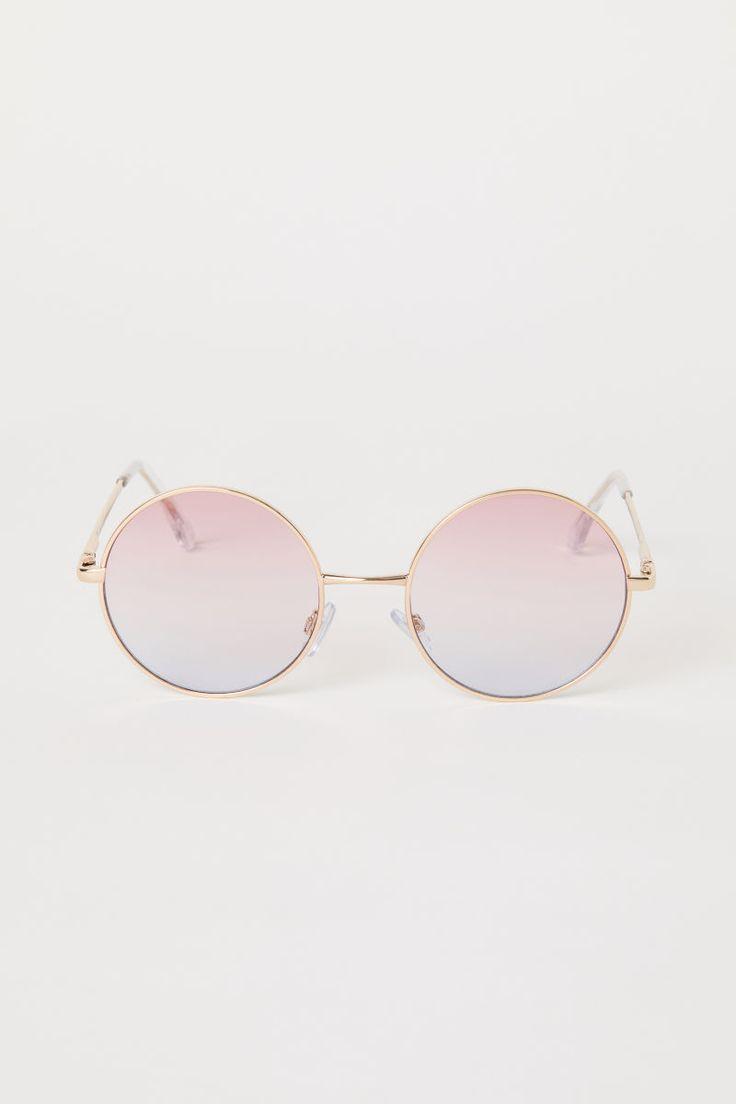 7 99 runde sonnenbrille rosa divided h m de deichmann reno h m brille. Black Bedroom Furniture Sets. Home Design Ideas