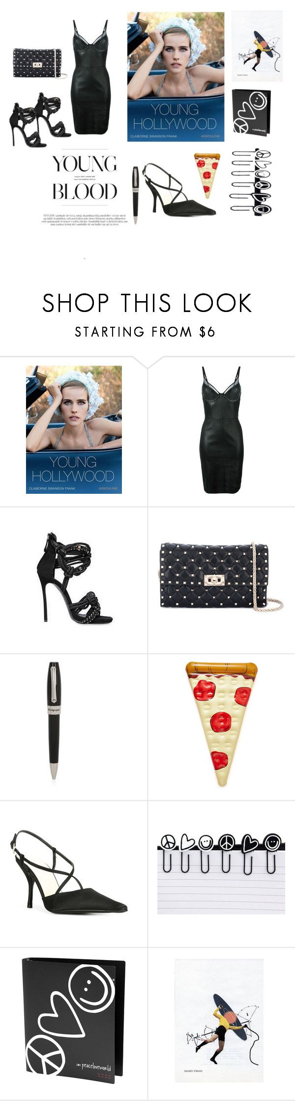 """Young Blood..**"" by yagna ❤ liked on Polyvore featuring Assouline Publishing, Jitrois, Dsquared2, Valentino, Montegrappa, Prada, Peace Love World, Jonathan Tegelaars and vintage"
