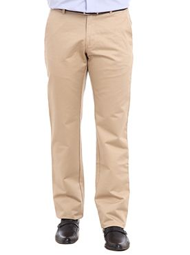 Dress in the latest style and trend with these pair of designer trousers introduced by Raymond. These pair of trousers feature a zip fly and button closure and waistband with belt loops. Crafted from superior quality cotton, these cotton trousers have a coin pocket on the right pocket along with two button welt pockets on the back. Team these designer trousers with dark colored shirts and you are sure to look presentable. These trousers are worth a proud possession for your wardrobes.