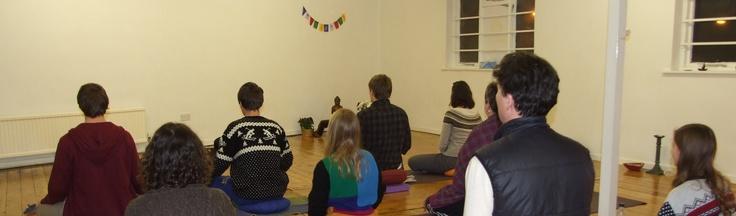 Peace, Love, Yoga & Meditation.. Mindfulness days with the lovely Jake Dartington at Nottingham Insight
