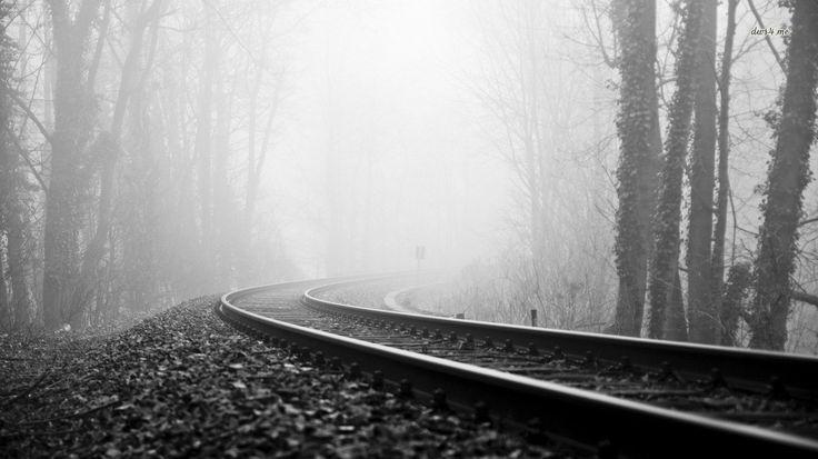 1366x768 HD Widescreen Wallpaper - railroad