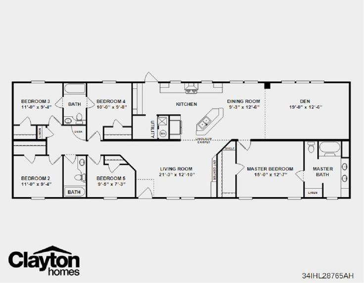 Modular Mansion Floor Plans: Floorplan No. 5 - The Hancock SPECIAL!
