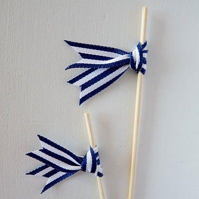 DIY swizzle sticks / drink stirers