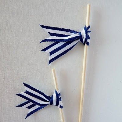 DIY swizzle sticks / drink stirers