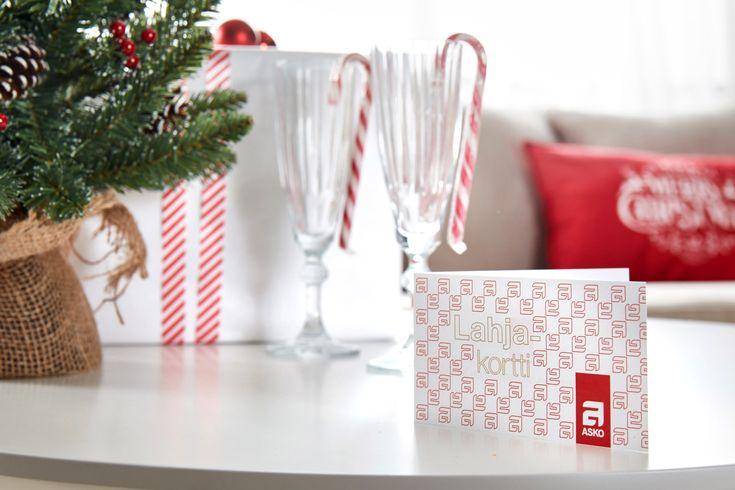 Onko vielä joululahja mietinnässä? Askon sisustuslahjakortti on monipuolinen lahjavaihtoehto! #sisustaminen #askohuonekalut #sisustusidea #sisustusideat #sisustus #style #decoration #homedecor #joulu #joulu2017 #lahjakortti #lahjamietinnässä