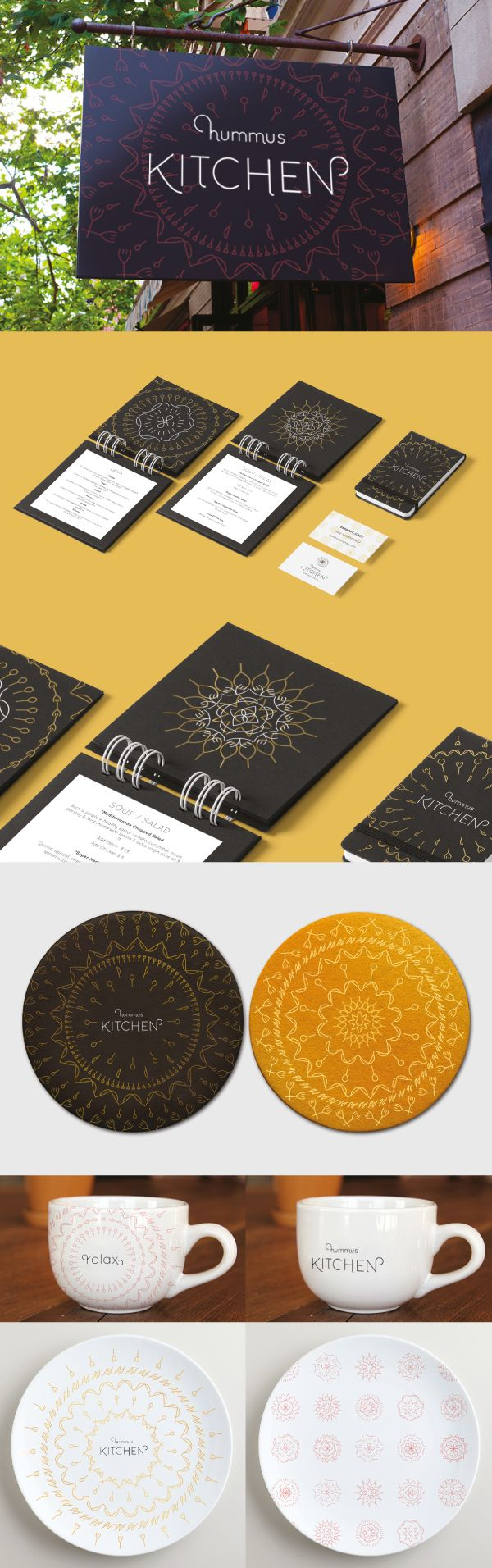Hummus Kitchen Brand on Behance