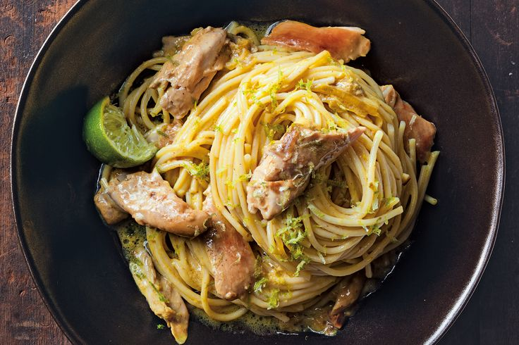 Slow Cooker Burmese Chicken and Noodles
