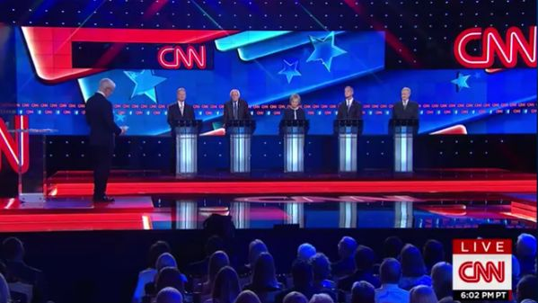 CNN Democrat Debate Draws 9 Million Fewer Viewers than GOP Debate with Trump  Jim Hoft Oct 14th, 2015