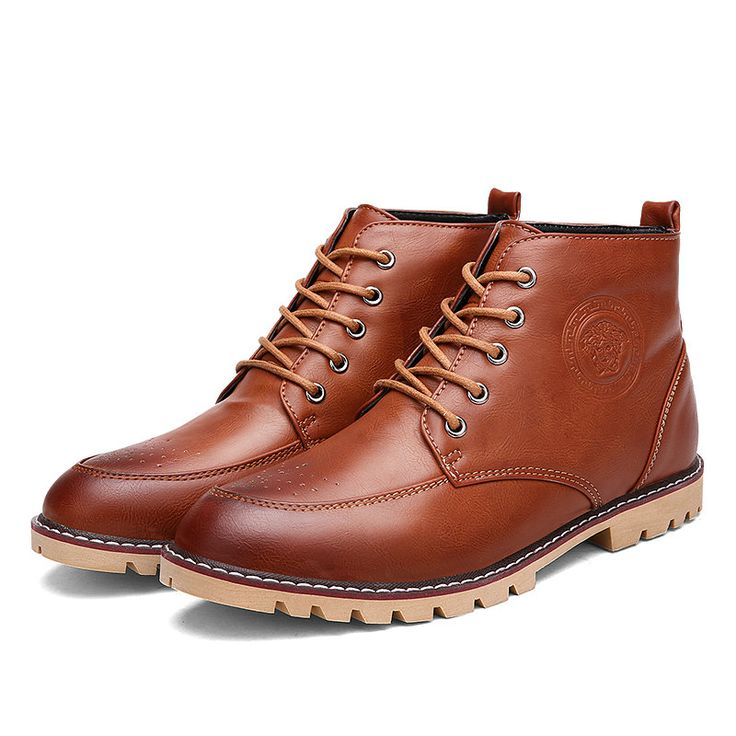Find More Men's Boots Information about Winter Boots For Men Simple Basic Style Hightop Ankle Bottine For All Match Cheap Price  Black Light Brown Red Brown,High Quality winter symbolism,China winter work boot Suppliers, Cheap winter boots cheap from Hong Kong Mansway Trade Co.,Limited on Aliexpress.com