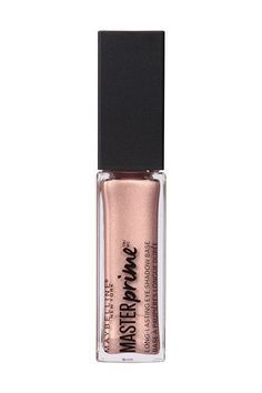 """The Dopest Spring Drugstore Beauty Buys #refinery29 http://www.refinery29.com/walmart-makeup#slide-14 Make sure your eyeshadow stays put with this flattering primer from Maybelline. This particular hue comes with a slight shimmer to help your shadows look """"lit from within.""""Maybelline Master Prime Long-Lasting Shadow Base in Illuminate, $7.15, available at <a href=""""http://www.walmart.com/ip/Maybelline-New-York-Master-Prime-Long-Lasting-Shadow-Base-0.23-fl-oz/47878424"""" rel=""""..."""