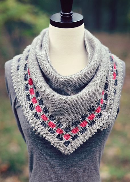 Free Pattern: Lucky Penny Shawl by Carina Spencer