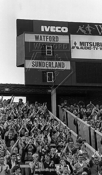 Watford 8 Sunderland 0
