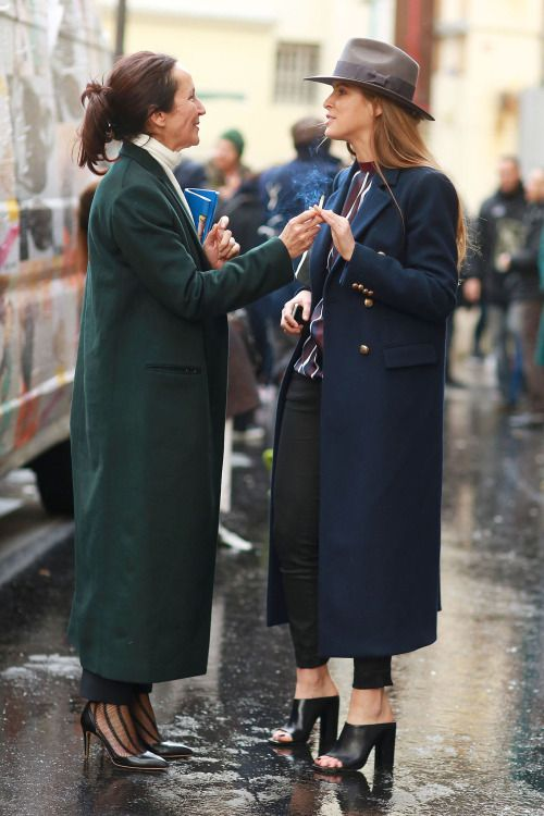 How to wear chic long coats