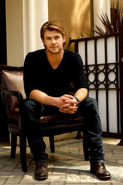 Hemsworth. I would so take either hemsworth brother no questions asked