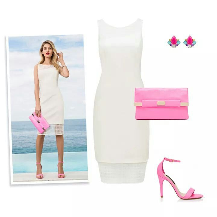 White with a touch of pink. #Beautiful