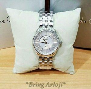 Jam Tangan Alexandre Christie Wanita AC 2579 Silver Original