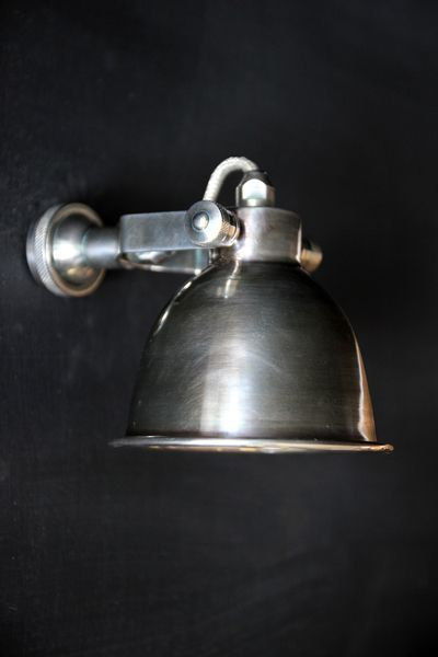 This fabulous wall light is beautifully designed fantastic quality and incredibly eyecatching This vintage style wall light requires a E14 screw fit