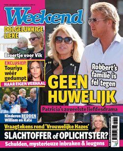 Proefabonnement: 8x Weekend € 15,-: Weekend staat elke week vol verrassende nieuwtjes en onthullende reportages over je favoriete sterren.