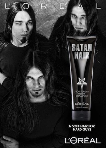 Satan hair. Why isn't this real?