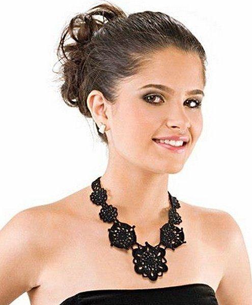 Free Crochet Jewelry Necklace Pattern