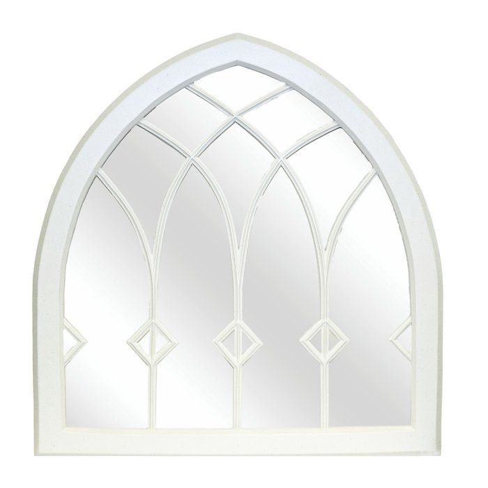 The Gothic Diamond Mirror is hand crafted from an original antique mirror. Hickory Manor House mirrors have a timeless quality and they capture the look and feel of period pieces. Made of a durable pecan shell resin material, this mirror has the appearance of natural wood and will grace your walls for years to come.