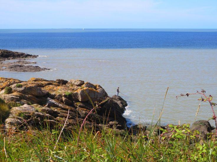 Pointe de Pen Lan à Billiers dans le Morbihan