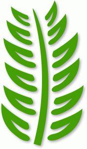 Silhouette Design Store - View Design #45860: fern - geometric