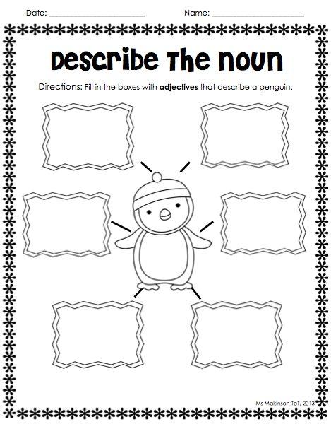 62 best Noun/Verb/Adjective Activities images on Pinterest