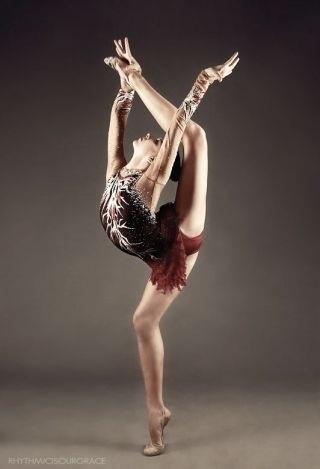 Rhythmic Gymnasts are so cool
