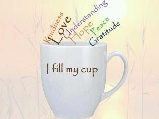 Fill your cup...: The Lord, Inspiration, Quote, Coff Time, Fillings, Coff Cups, Mornings, Kind, Gratitude