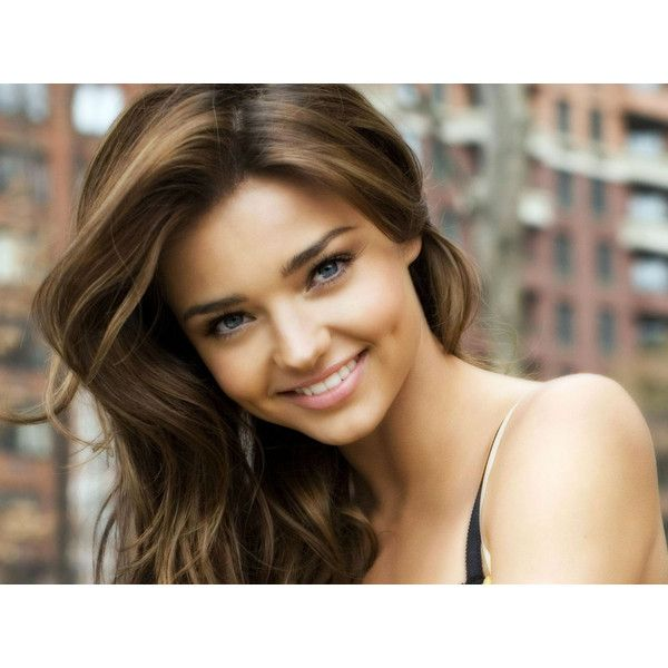 Miranda Kerr Wallpapers Celebrity Wallpapers ❤ liked on Polyvore featuring people, models, miranda kerr, hair and girls