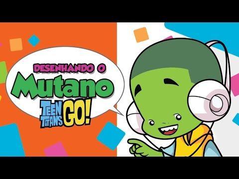 Como desenhar Mutano New Titans Go!