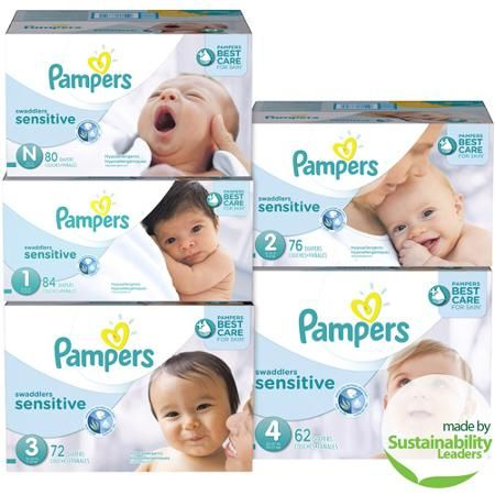 · The brands are designed for different sized model babies. From our experience: For newborns only, size N. Pampers is more slim fit. Huggies is a fatter fit.