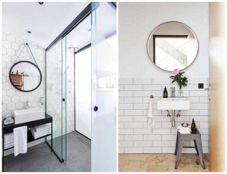 Inspirações lindas para banheiro escandinavo.