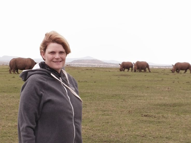 Ramona enjoying her final days in Kenya. What a magic experience! #Africa #Travel