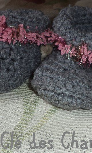 pantoufles tricot 15$