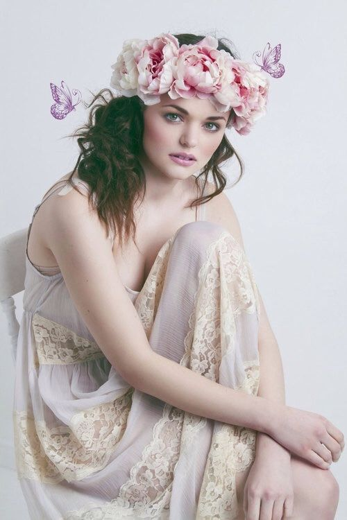 Ana Rosa - Romantic Flower Crown ~