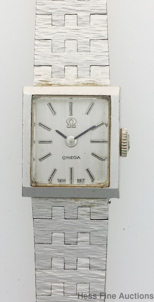 Vintage 1970s Freeform Nugget Genuine Ladies Omega Ladies Watch #OMEGA