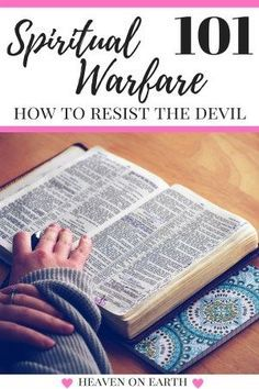 """Submit yourselves then to God, resist the devil and he will flee from you"". I never knew what this meant …. but once I found out it dramatically changed how I live my life. Want to know for yourself? Click through to find out how you can live a victorious life and have more freedom than you ever imagined!"