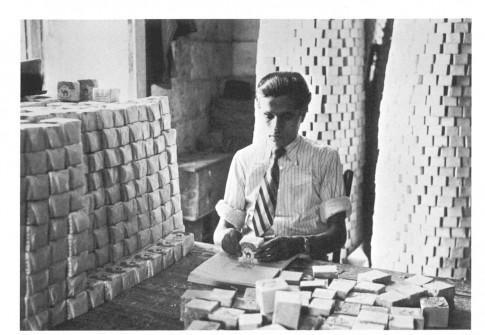 Soap making in Nablus, Palestine