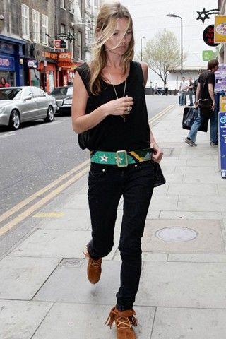 Kate Moss Minnetonka Booties