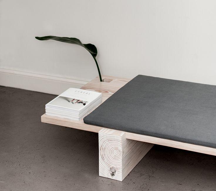 B 01 is a minimal bench created by Brooklyn-based designer Levi Gordy
