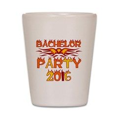 Bachelor Party 2016 Shot Glass> Bachelor Party 2016 T-shirts and Gifts> peacockcards.com