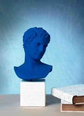 Marathon Boy  Color Klein Blue