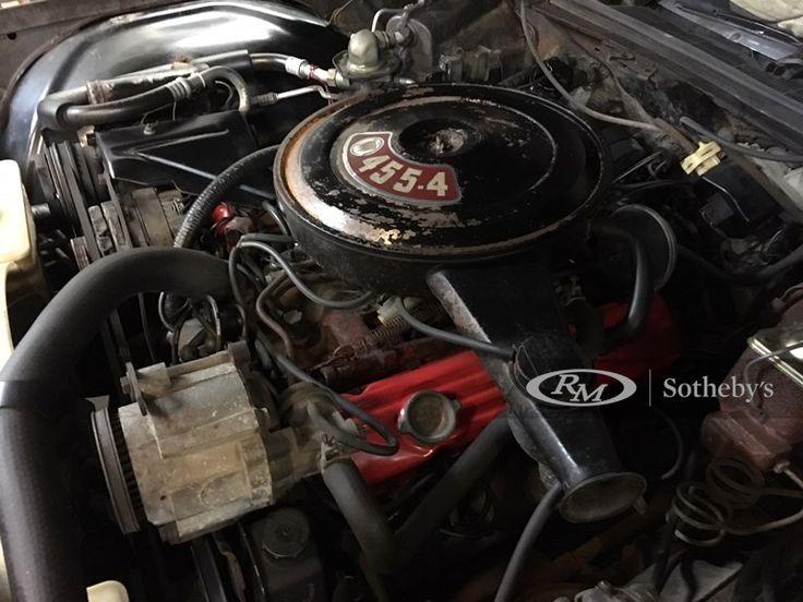 454 cu. in. V8 engine Automatic transmission An original