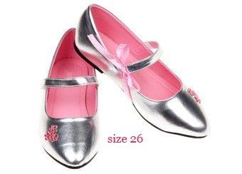 ballerines argentées 'Dolores' p25-32 Souza for Kids | shop pour enfants Le Petit Zèbre