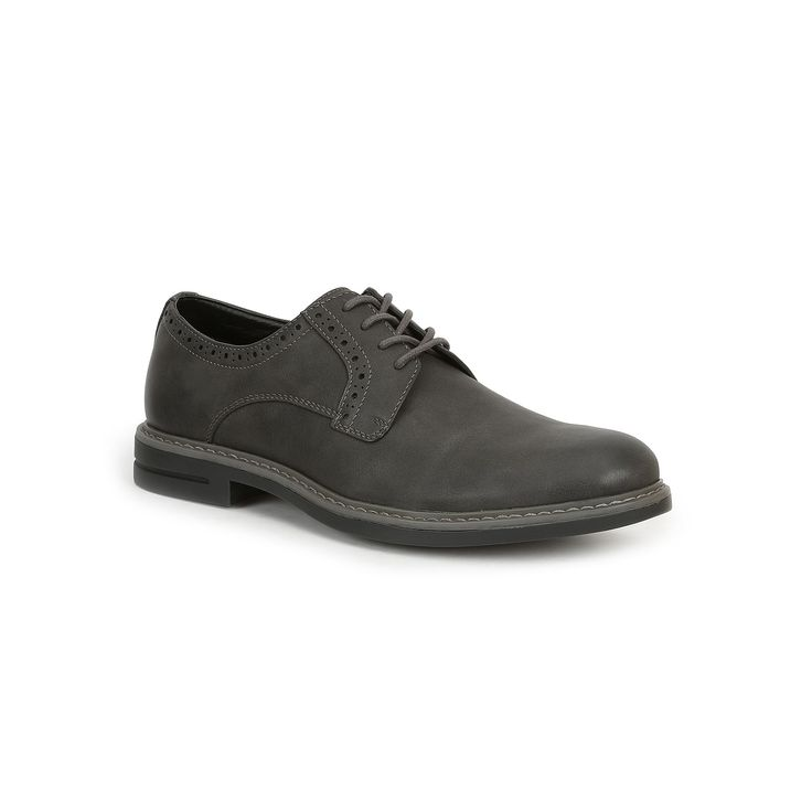 IZOD Chad Men's Oxford Shoes, Size: medium (11.5), Dark Grey