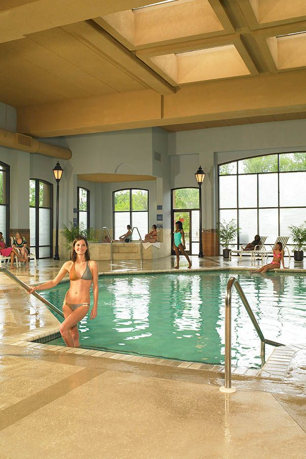 Fitz Casino Tunica Mississippi Indoor Swimming Pool